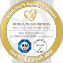 Beratersiegel-2013 der Berufungsberatung nach Ursula Maria Lang